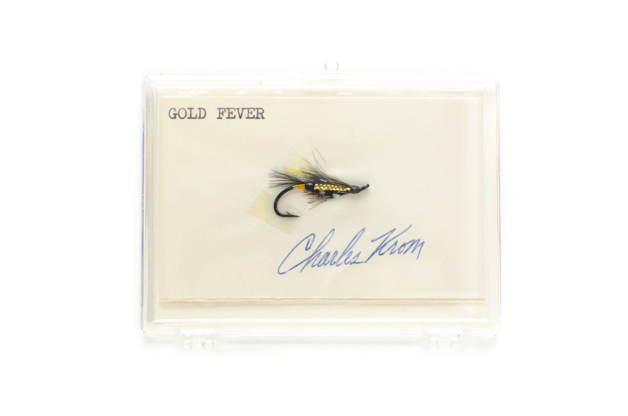 Gold Fever Salmon Fly by Charles Krom
