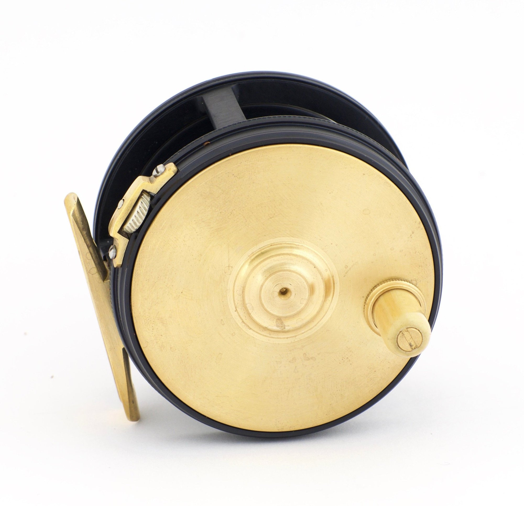 "Henshaw, Chris - 3 1/4"" Brass Face Perfect Fly Reel"