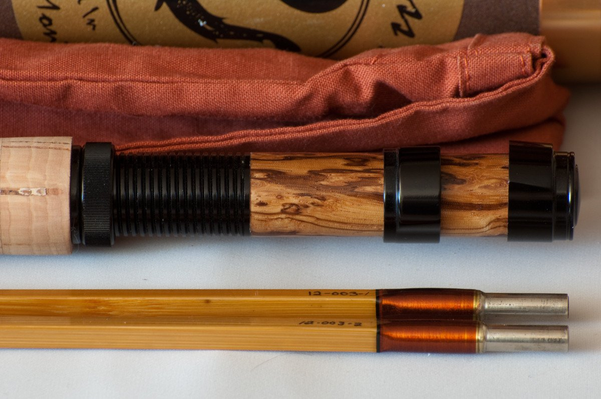 Sweetgrass Quad Bamboo Rod - Mantra Series 7'9 4/5wt 2/2