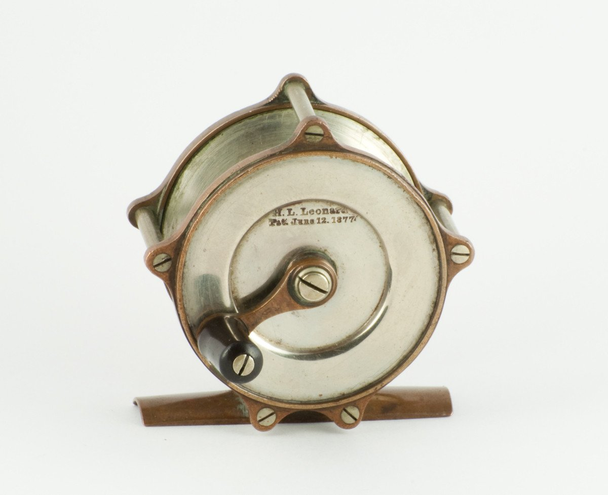 Leonard Bimetal Trout Fly Reel - Philbrook & Paine First Model!