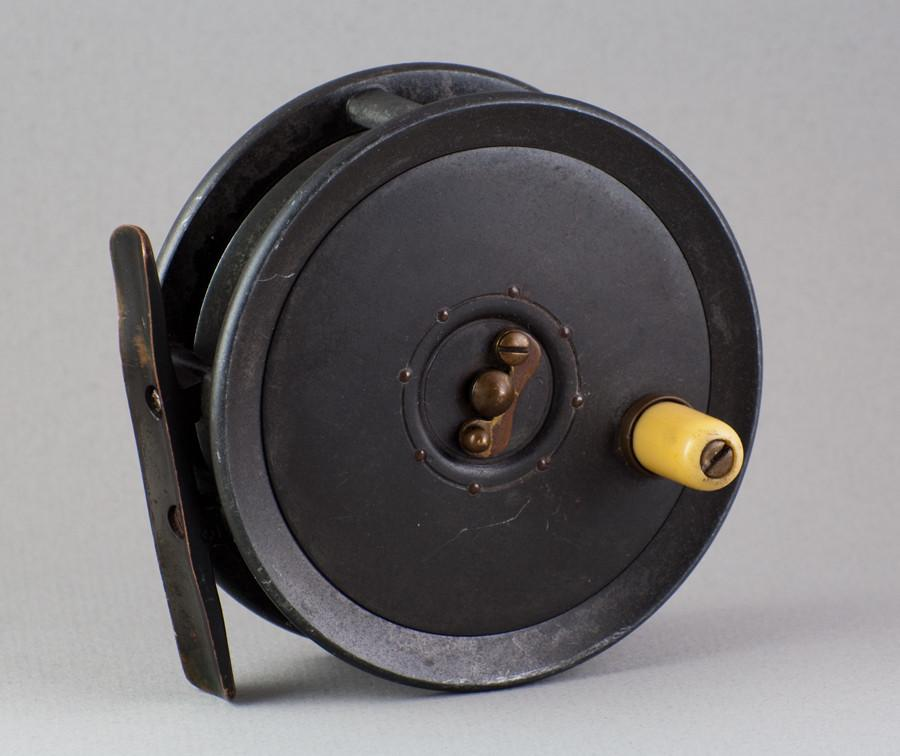 "Dingley Fly Reel 3 1/2"" - caged spool"