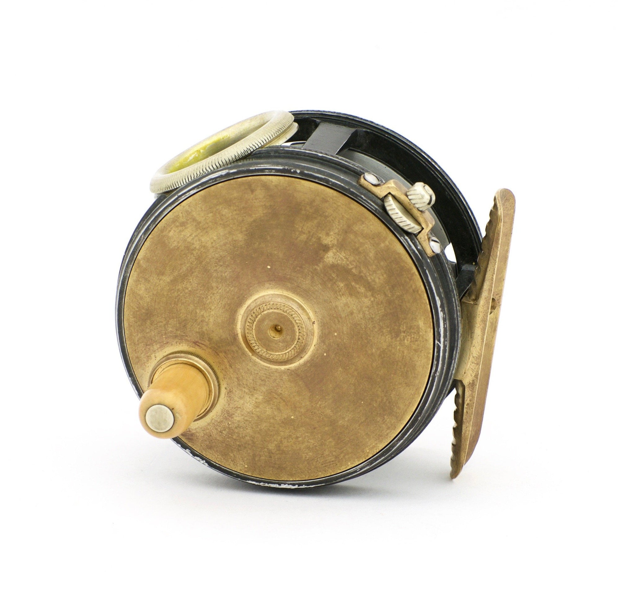 "Henshaw, Chris - 3"" Brass Face Perfect Fly Reel"