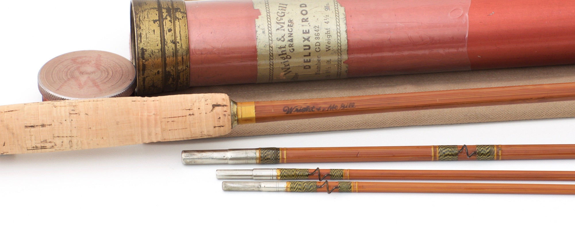 Wright & McGill Granger Deluxe Model 8642 Bamboo Rod