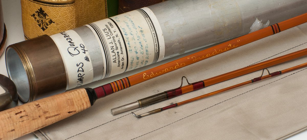 Edwards Quadrate Model #40 Bamboo Rod