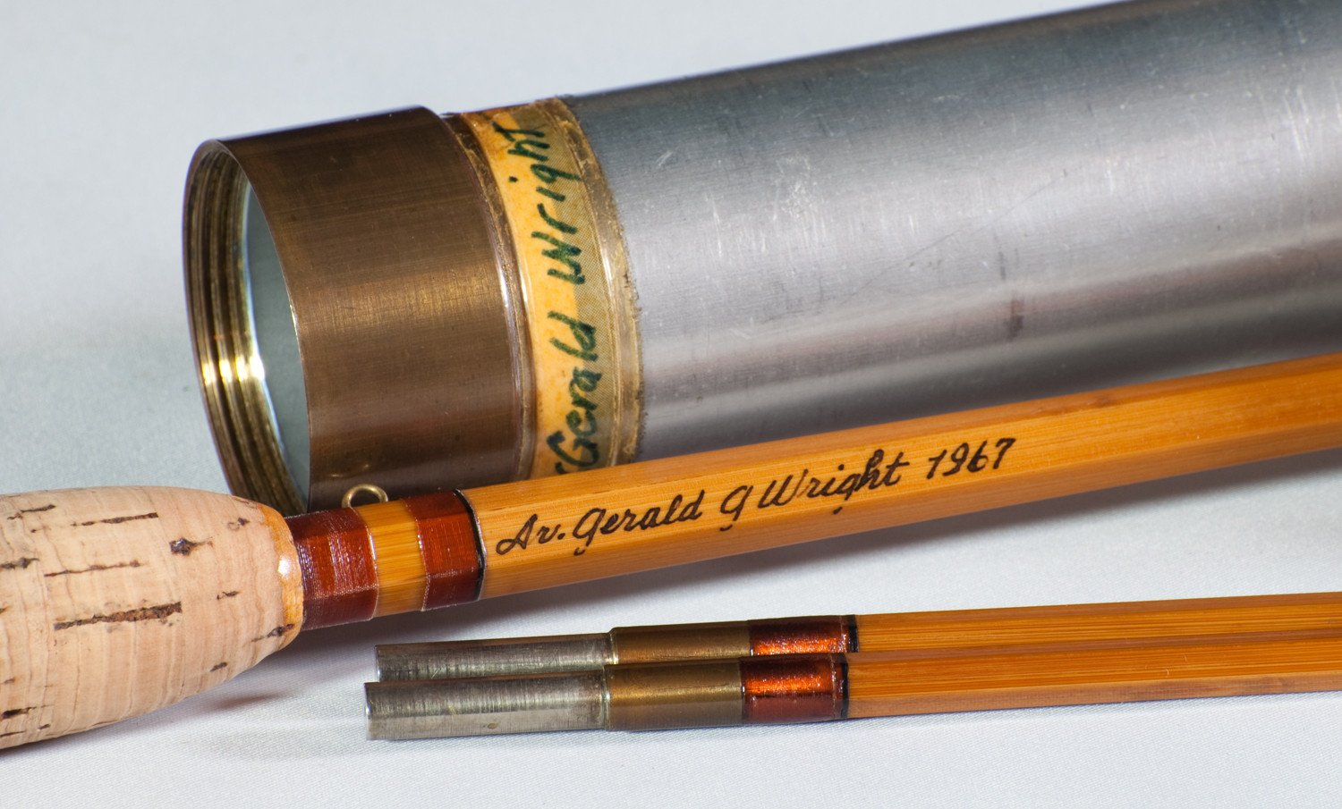 Lyle Dickerson -- Model 8014 Bamboo Rod