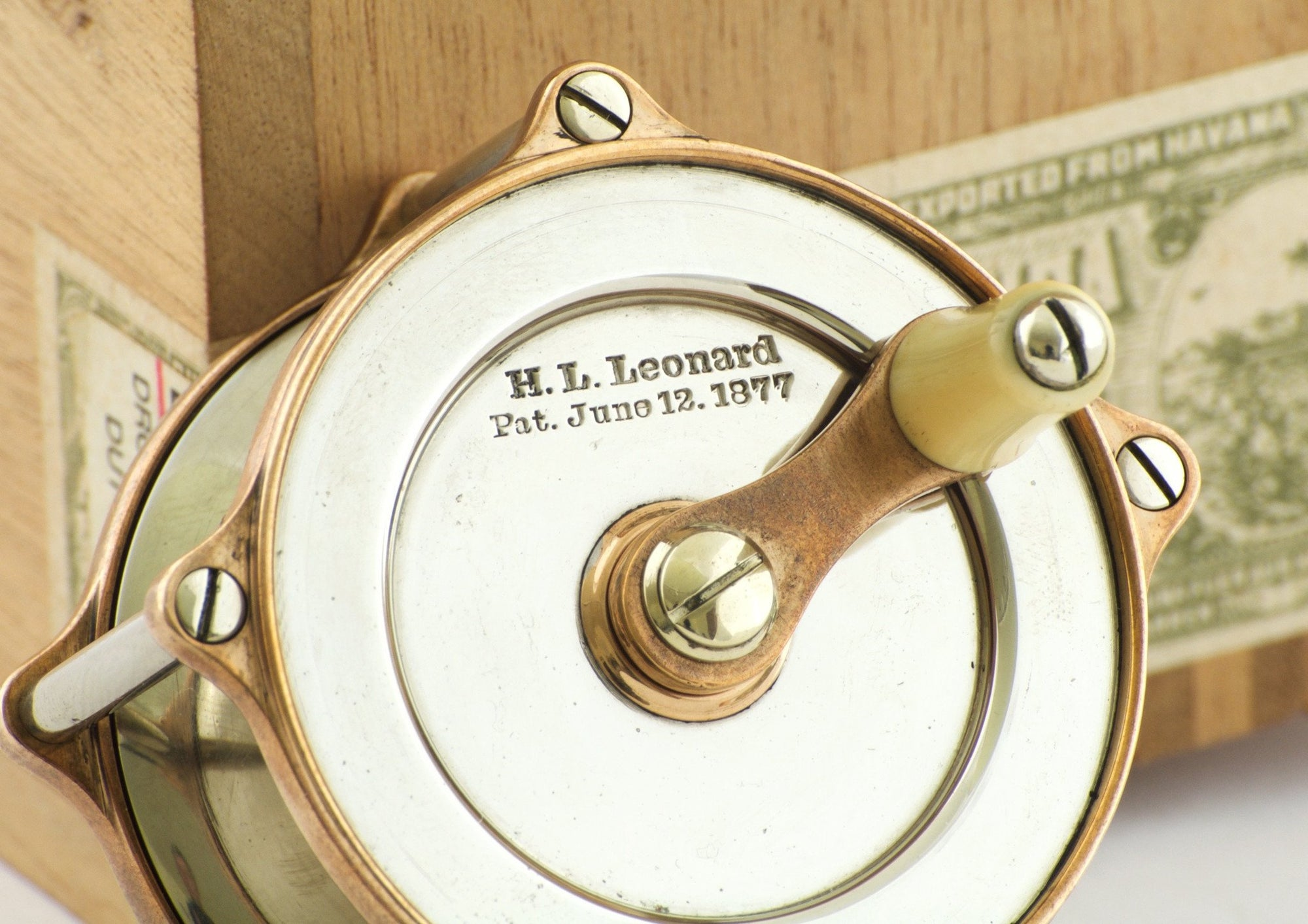 Leonard Bimetal Trout Fly Reel - Smallest Size and Flawless!
