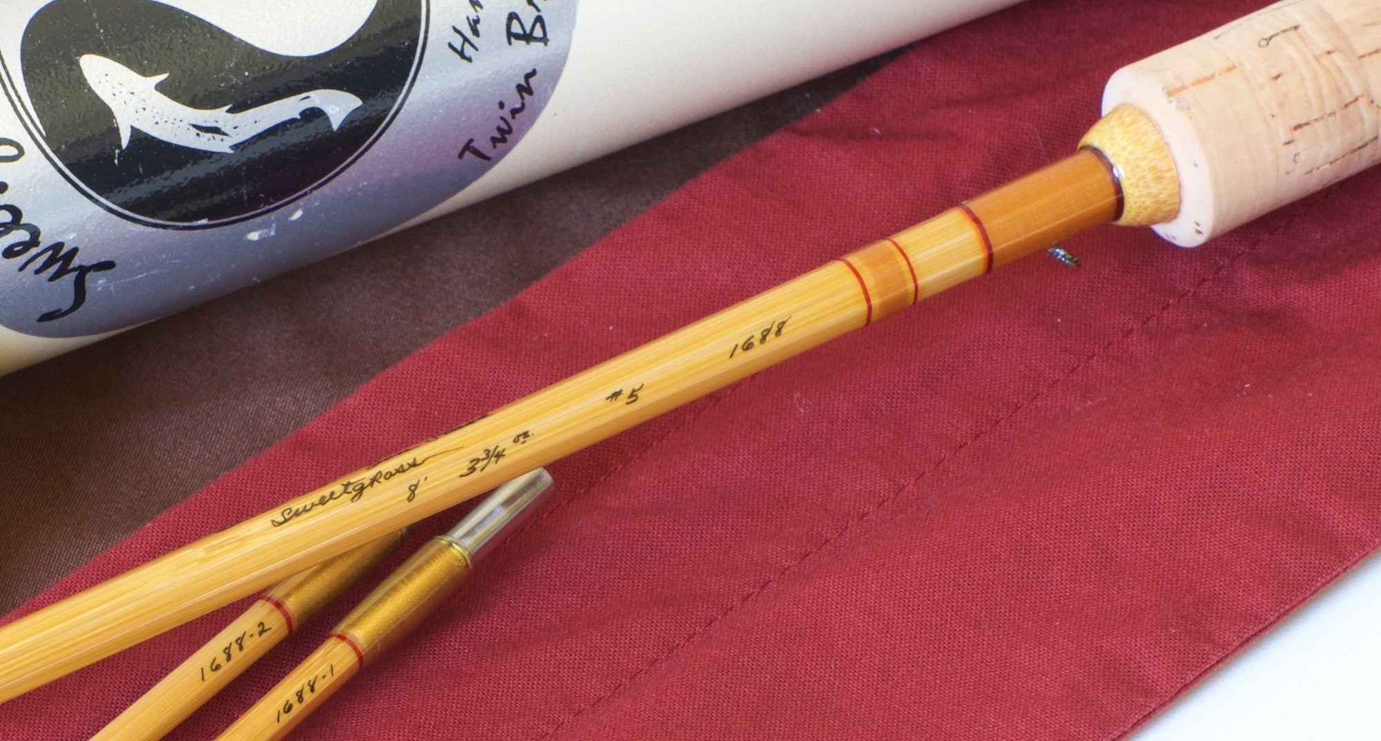 Sweetgrass Bamboo Rod 8' 5wt 2/2 (Octagonal Construction)