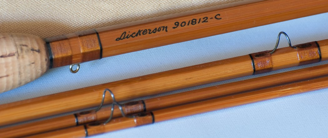 Lyle Dickerson -- Model 901812-C Bamboo Rod
