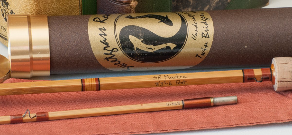 Sweetgrass Bamboo Rod - Mantra Series 8'3 6wt Penta