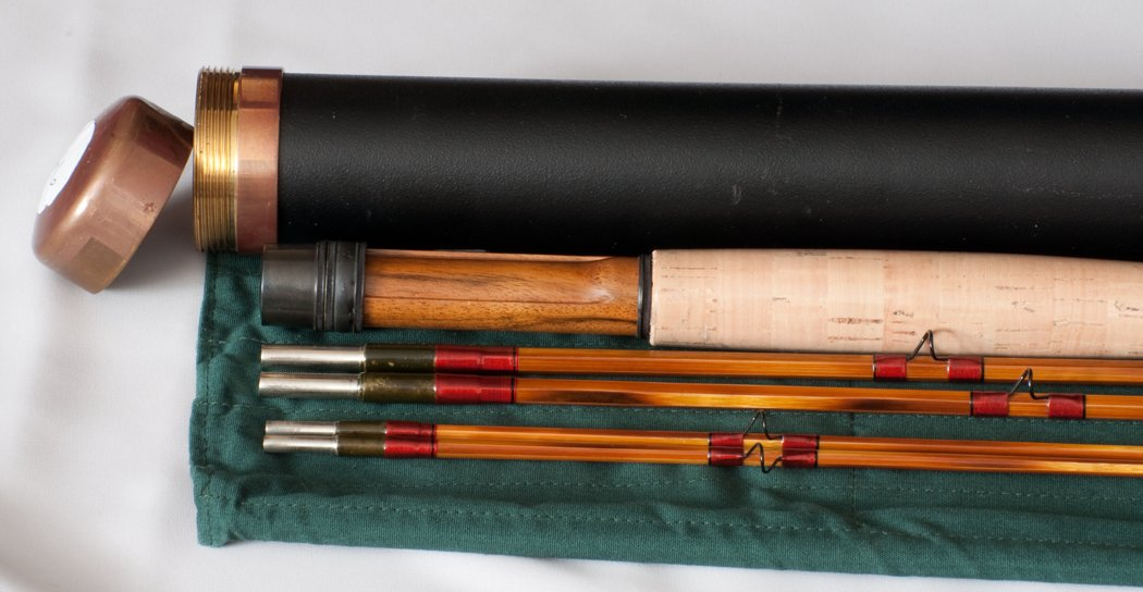 Maxwell, Tom -- 7' and 7'6 3/2/2 4-5wt combo bamboo rod