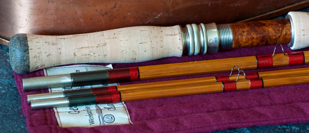 Olaf Kundrus 12' Two-Handed Bamboo Spey Rod