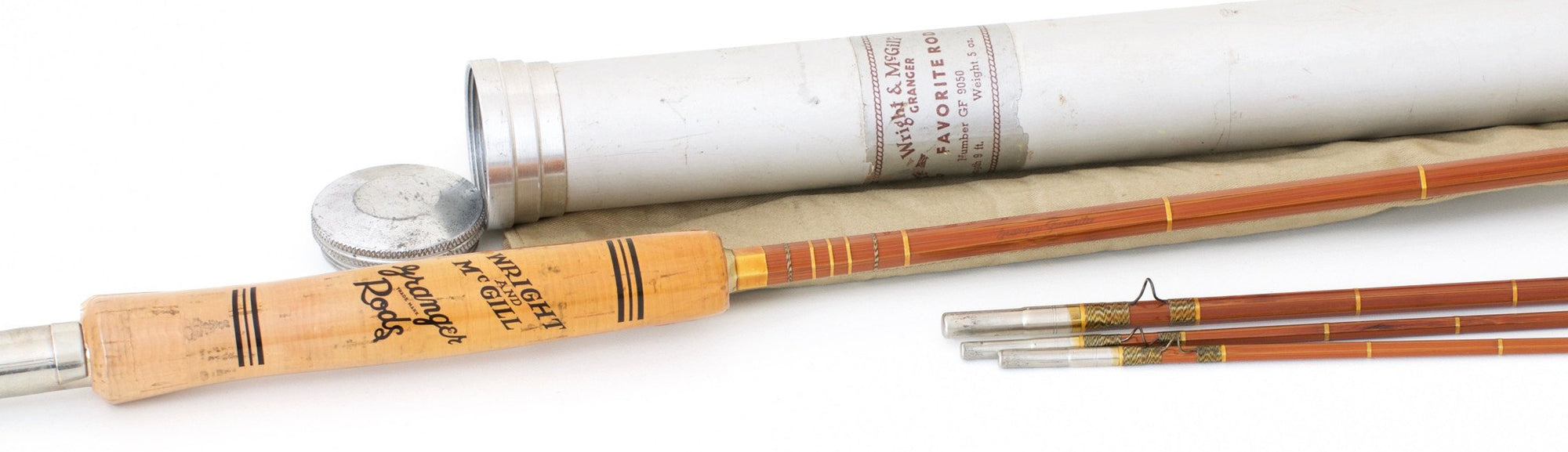 Wright & McGill Granger Favorite Model 9050 Bamboo Rod