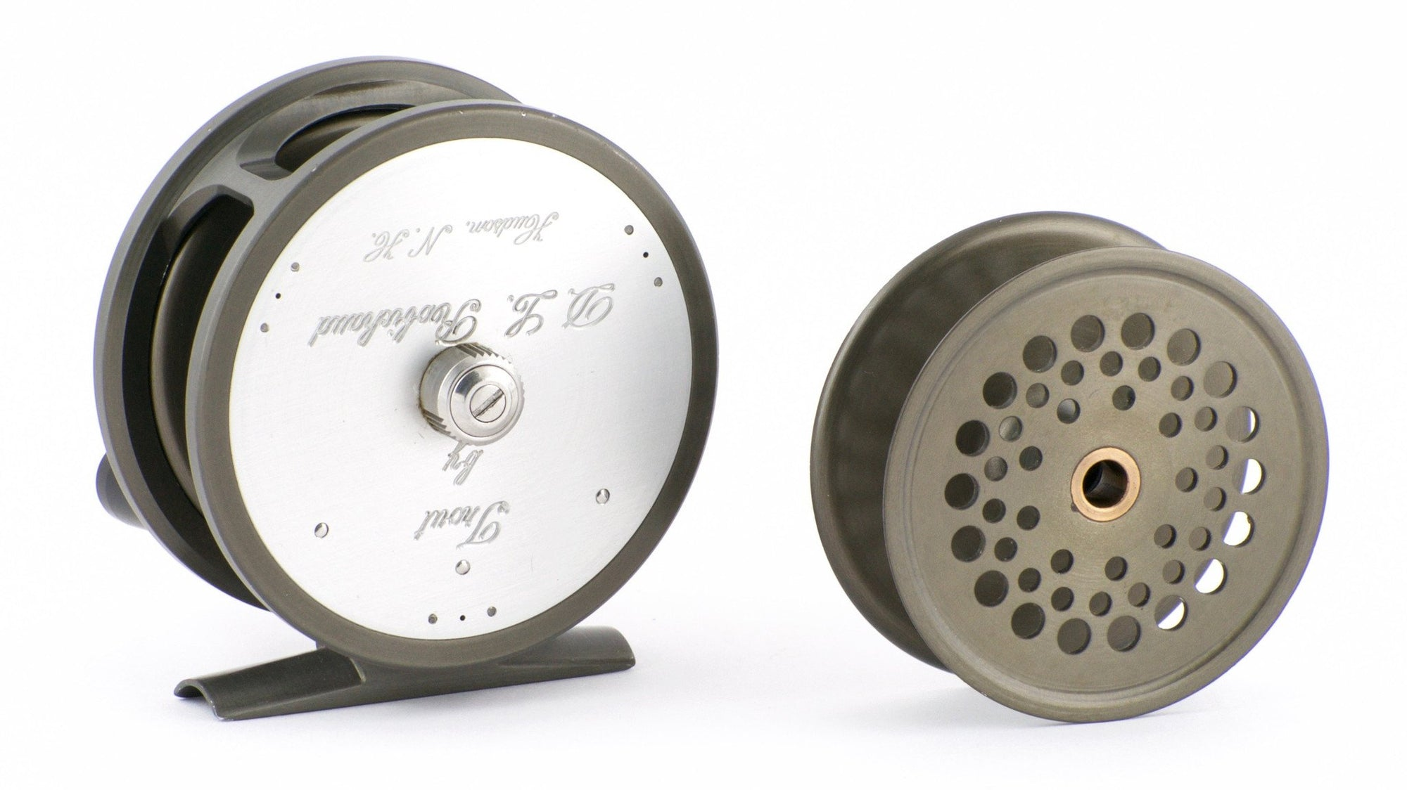 "Robichaud 3"" Disc Drag Trout Reel with Spare Spool"