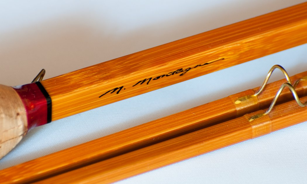 Mike Montagne -- 8' 7wt Quadrate Bamboo Rod