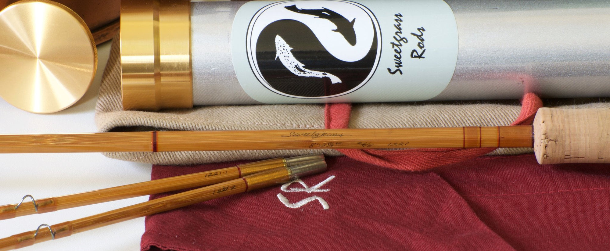 Sweetgrass Bamboo Rod 8' 4-5wt 2/2