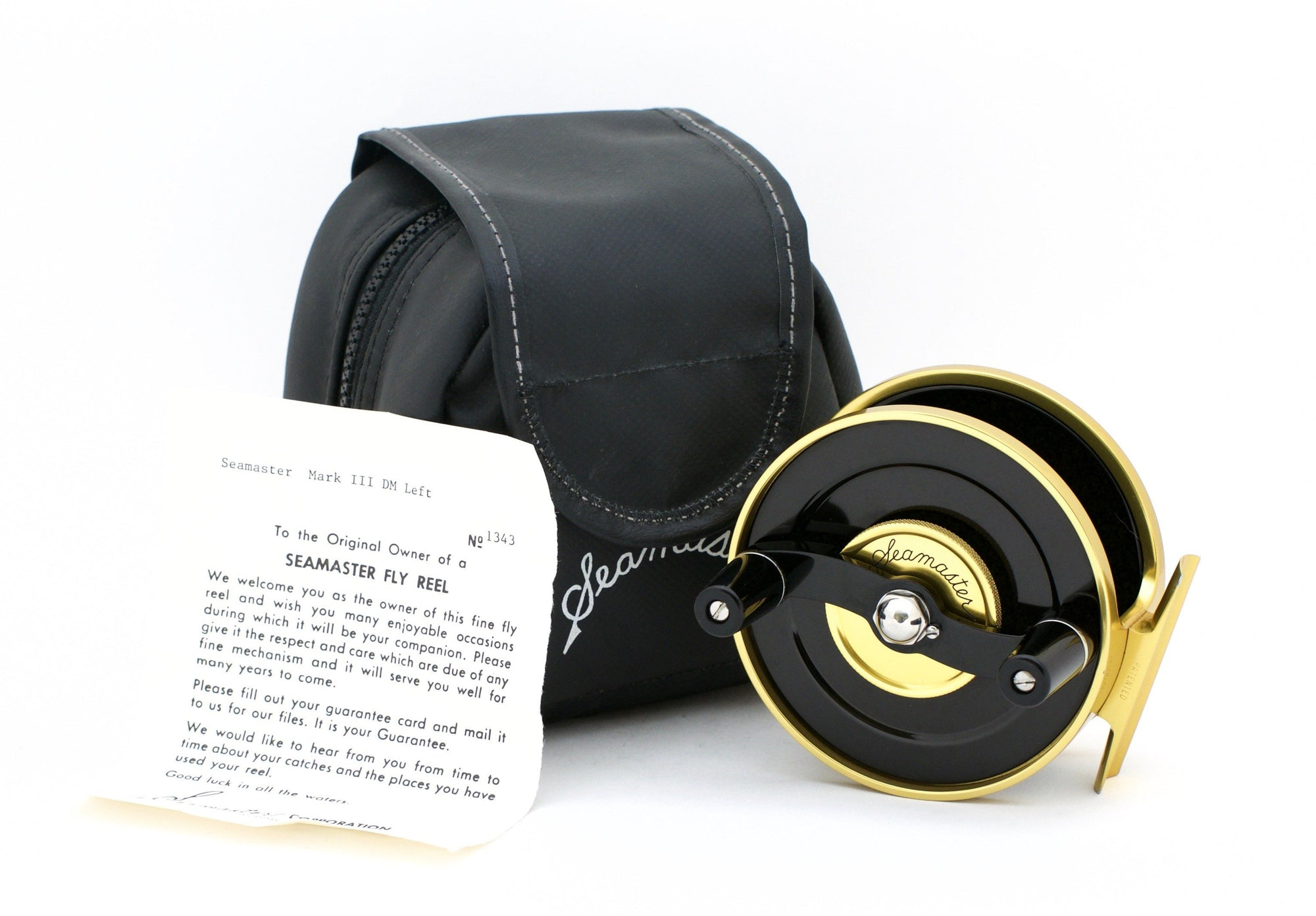 Seamaster Dual Mode Fly Reel - Mark III (LHW)