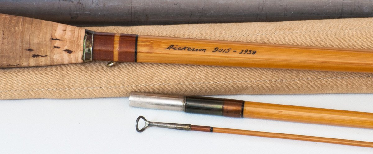 Lyle Dickerson -- Model 9015 Bamboo Rod