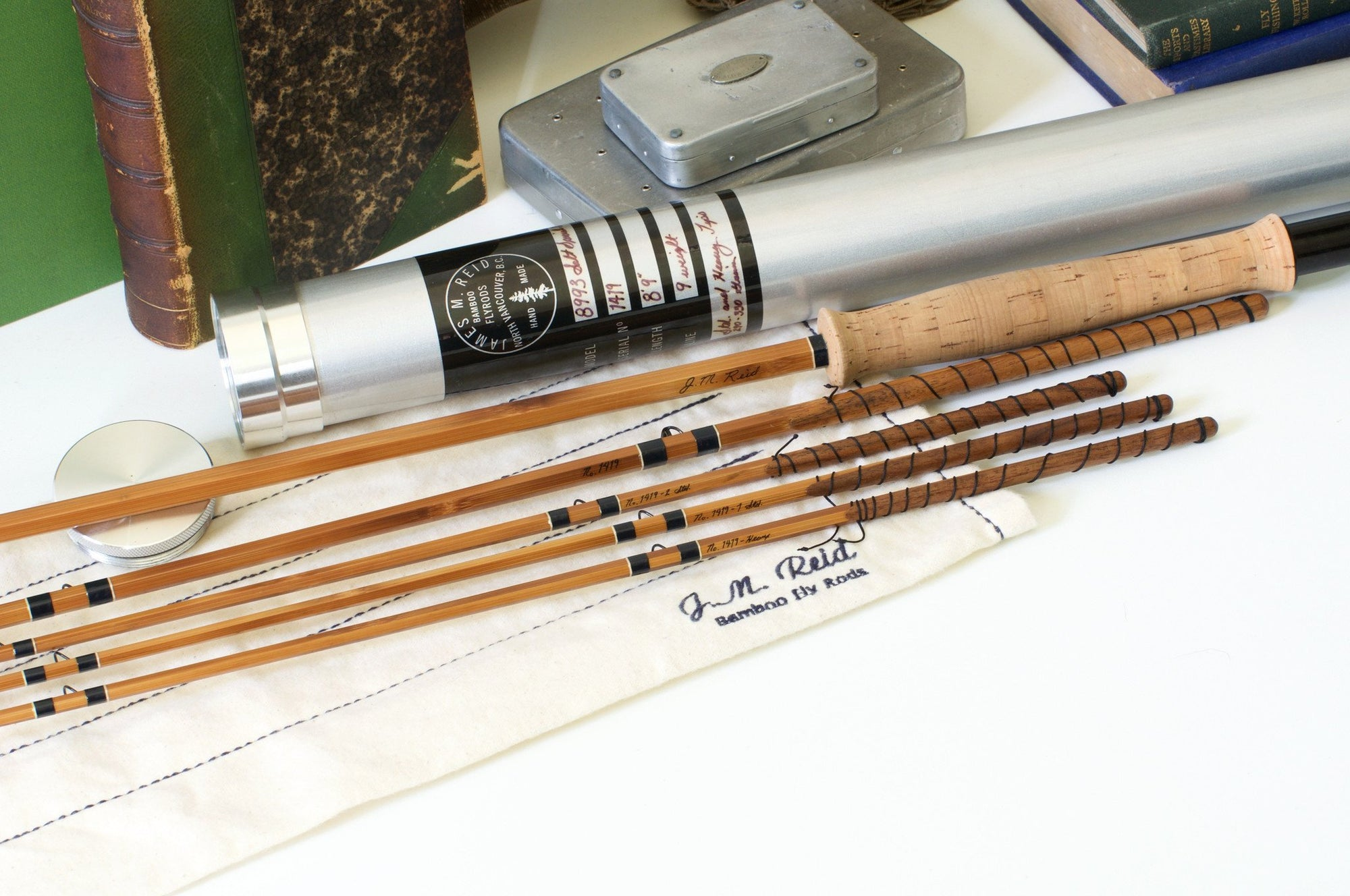 Reid, James - Salt Special H.D. 8'9 9wt Bamboo Rod