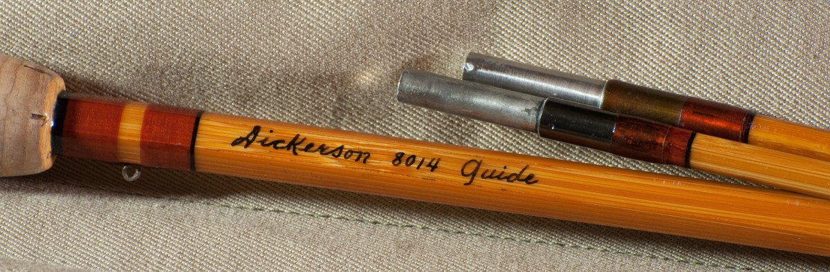 Lyle Dickerson -- Model 8014 Guide Bamboo Rod