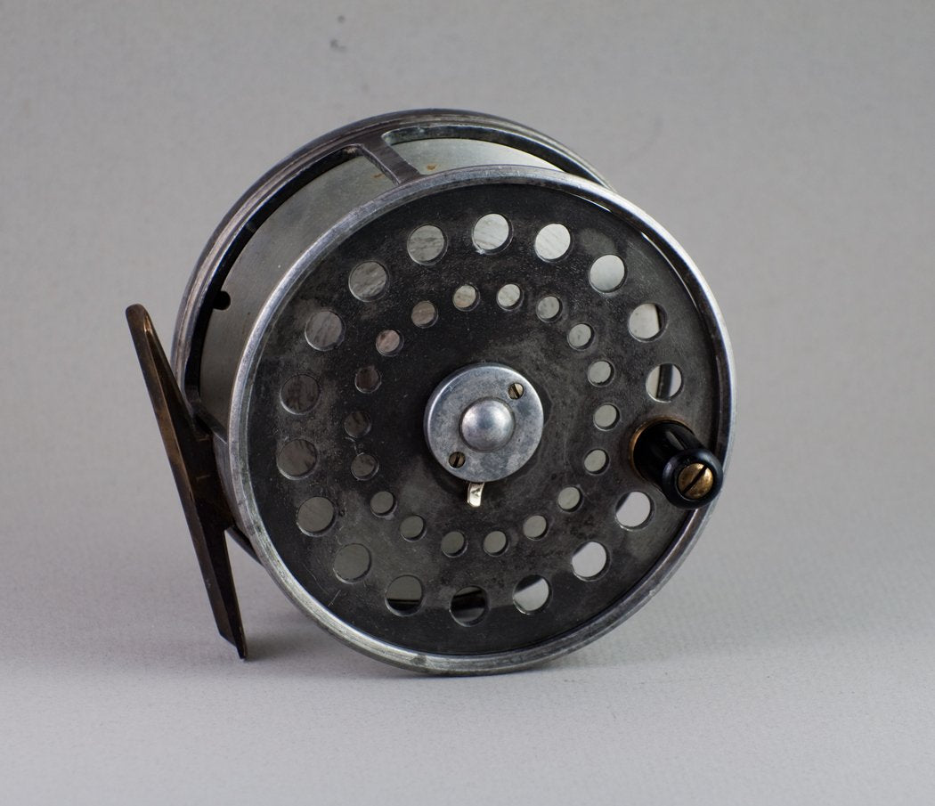 "Dingley Fly Reel 3 1/2"" - St. George style wide drum - RARE!"