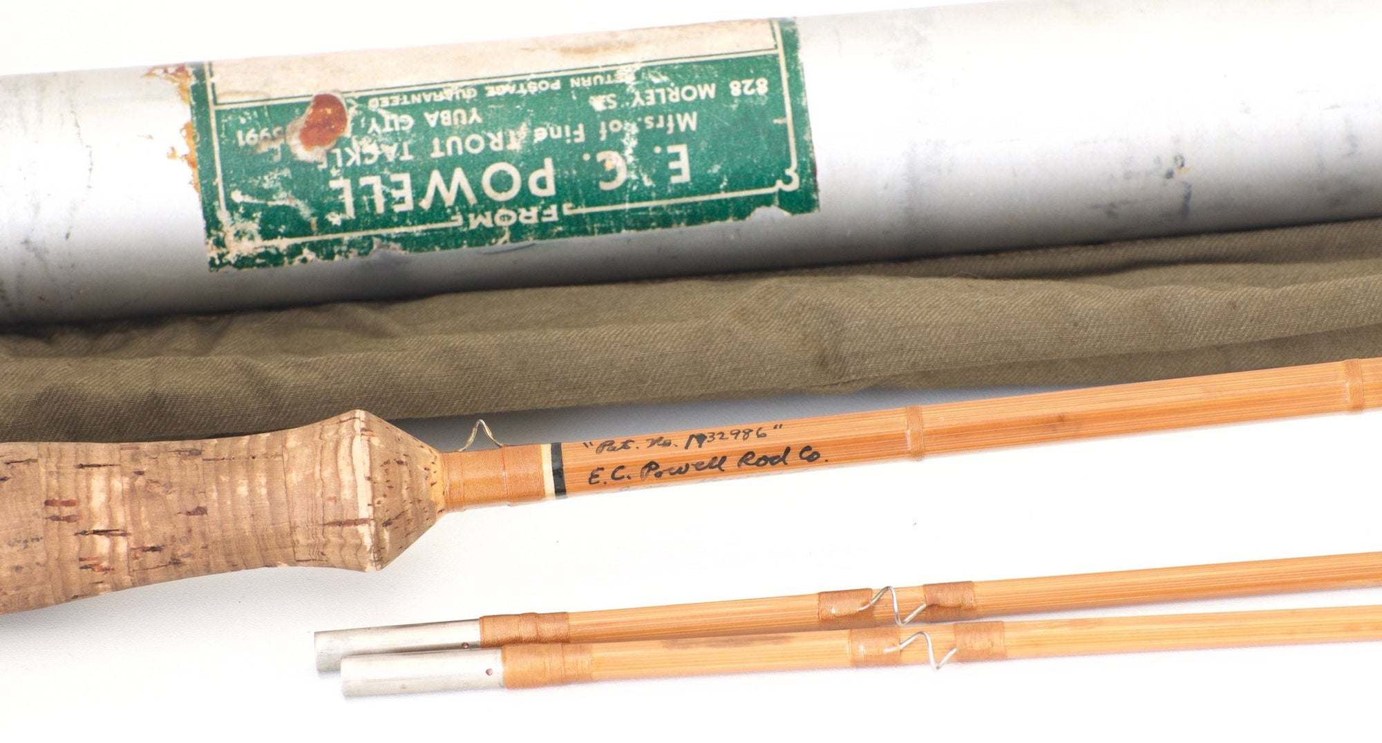 Powell, E.C. -- 9' B-Taper Hollowbuilt Bamboo Rod