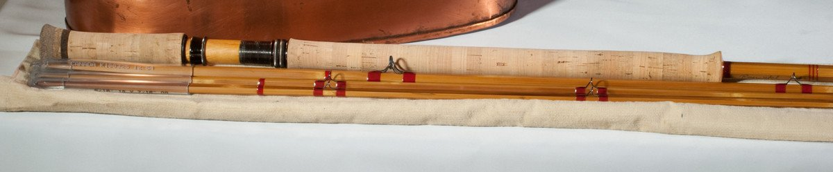 Riverwatch (Bob Clay) Two-Handed Bamboo Spey Rod 12'6 8/9 weight