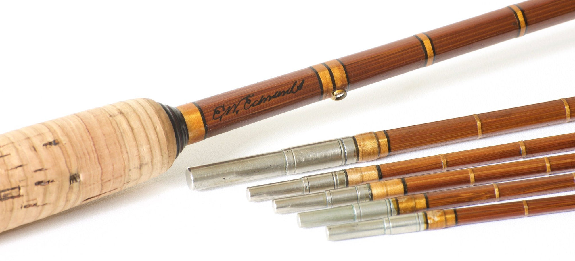 Edwards, E.W. -- 9' Brewer Era Bamboo Rod