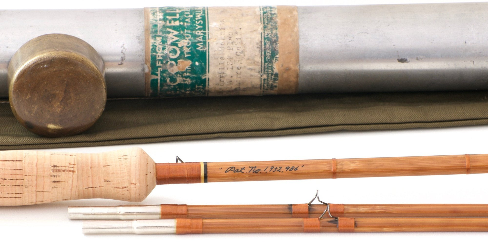 Powell, E.C. -- Truckee Special / Tournament Bamboo Rod 9'6 5-6wt