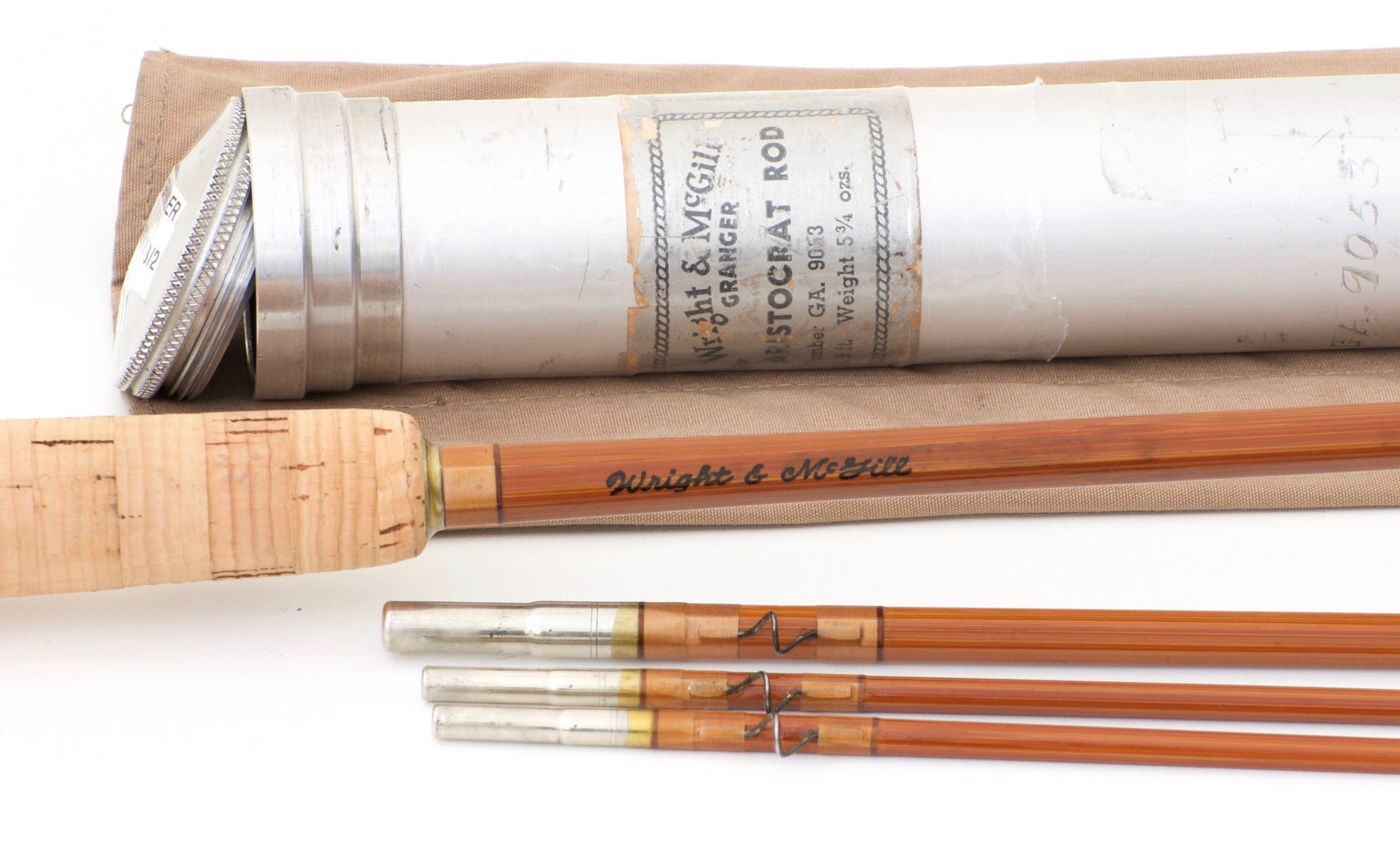 Wright & McGill Granger Aristocrat Model 9053 Bamboo Rod