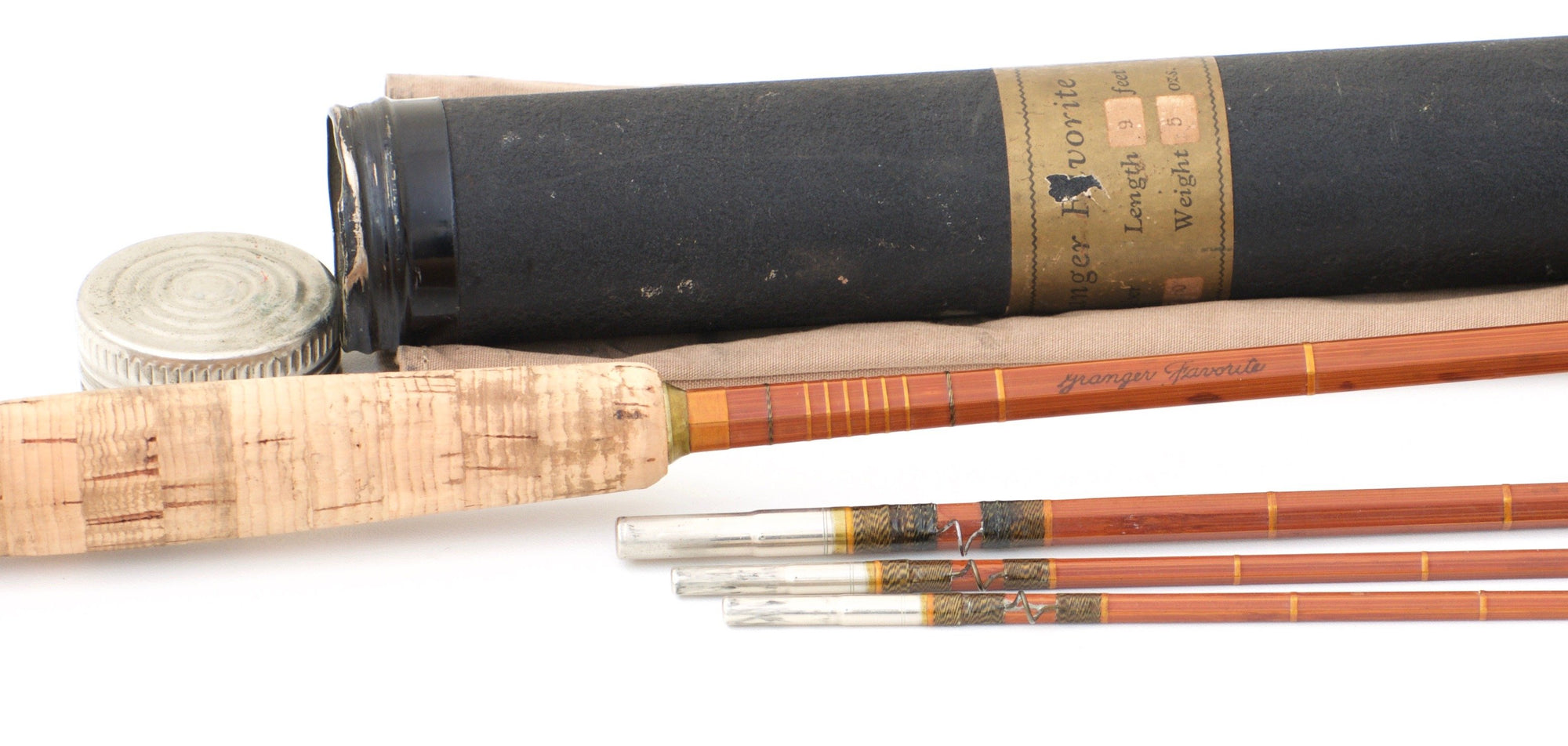 Goodwin Granger Favorite Model 9050 Bamboo Rod