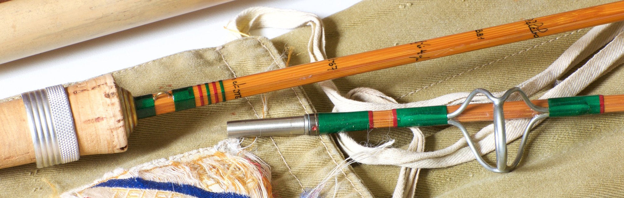 "Pezon et Michel ""Telebolic BB1"" Bamboo Spinning Rod"