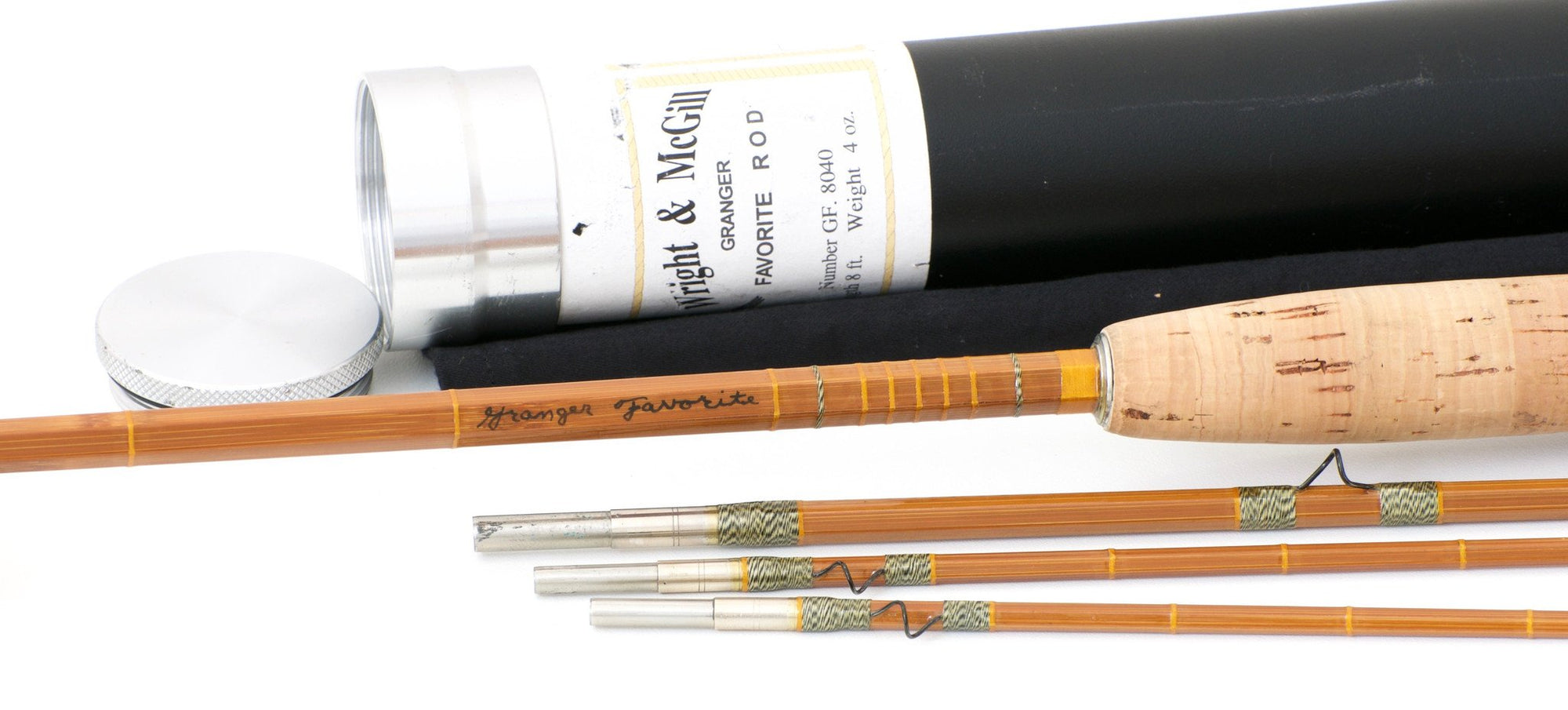 Wright & McGill Granger / Gary Lacey Model 8040 Favorite Bamboo Rod