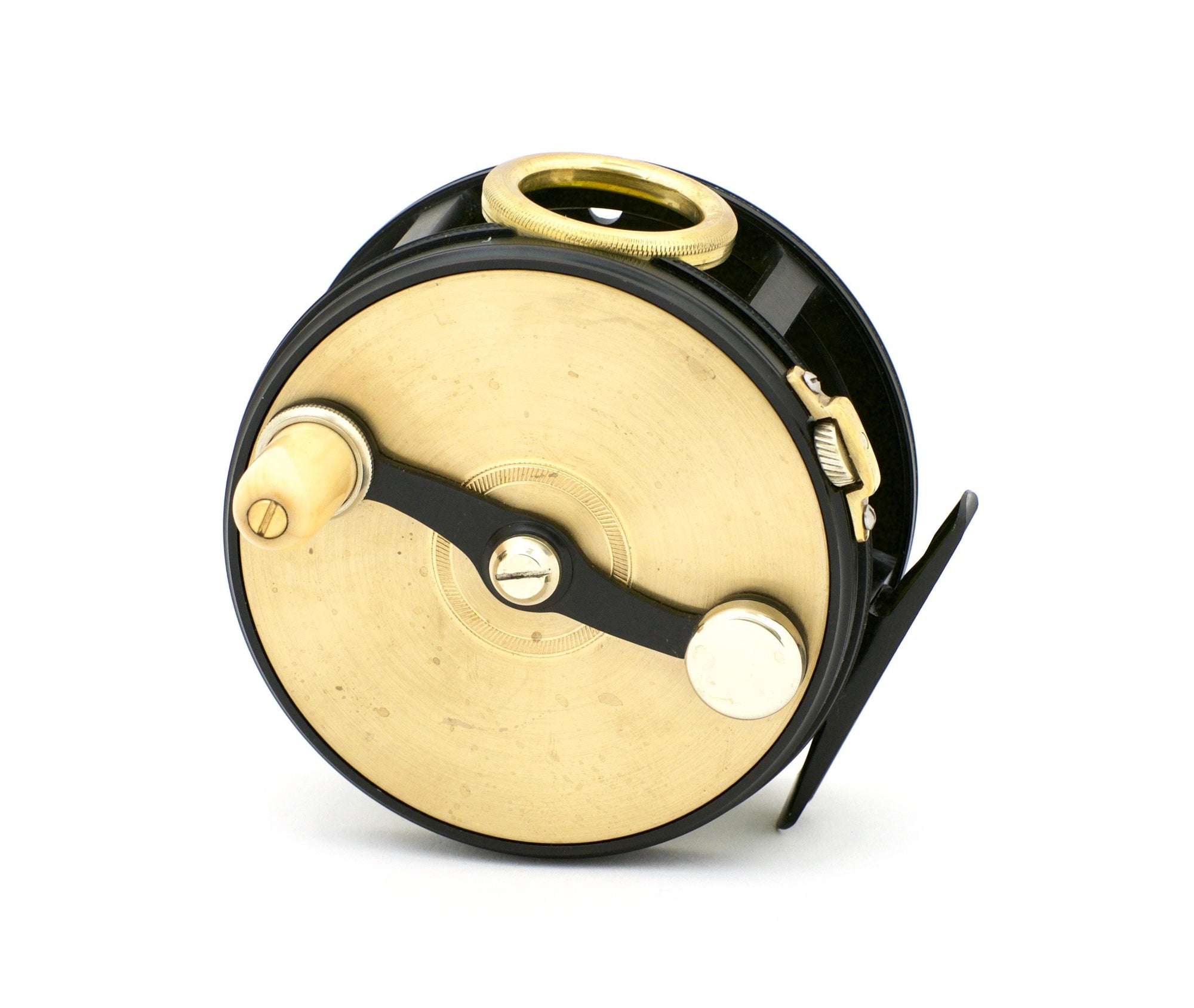"Henshaw, Chris - 4"" Brass Face Perfect Fly Reel"
