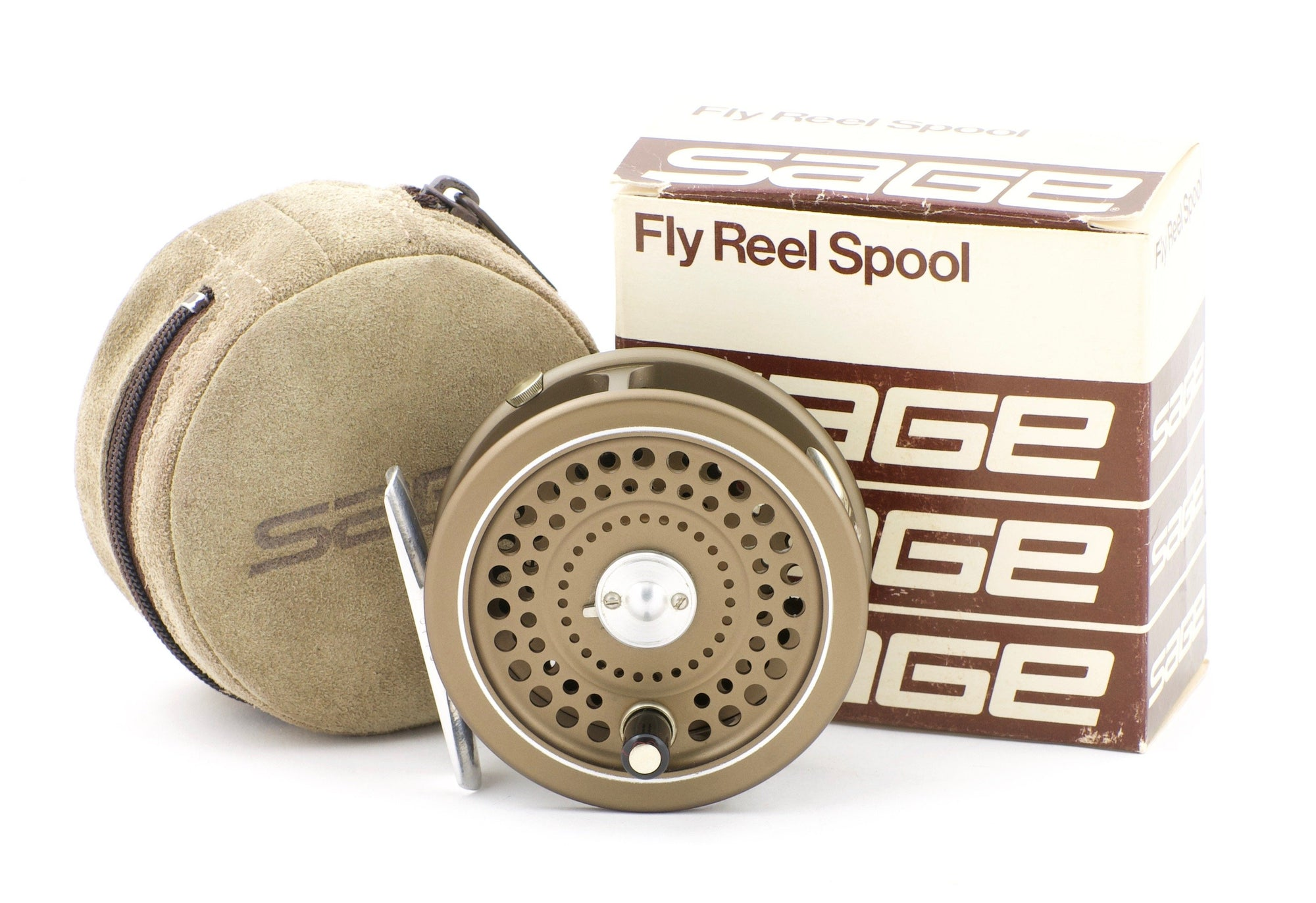 Sage 504L Fly Reel and Spare Spool (made by Hardy's)