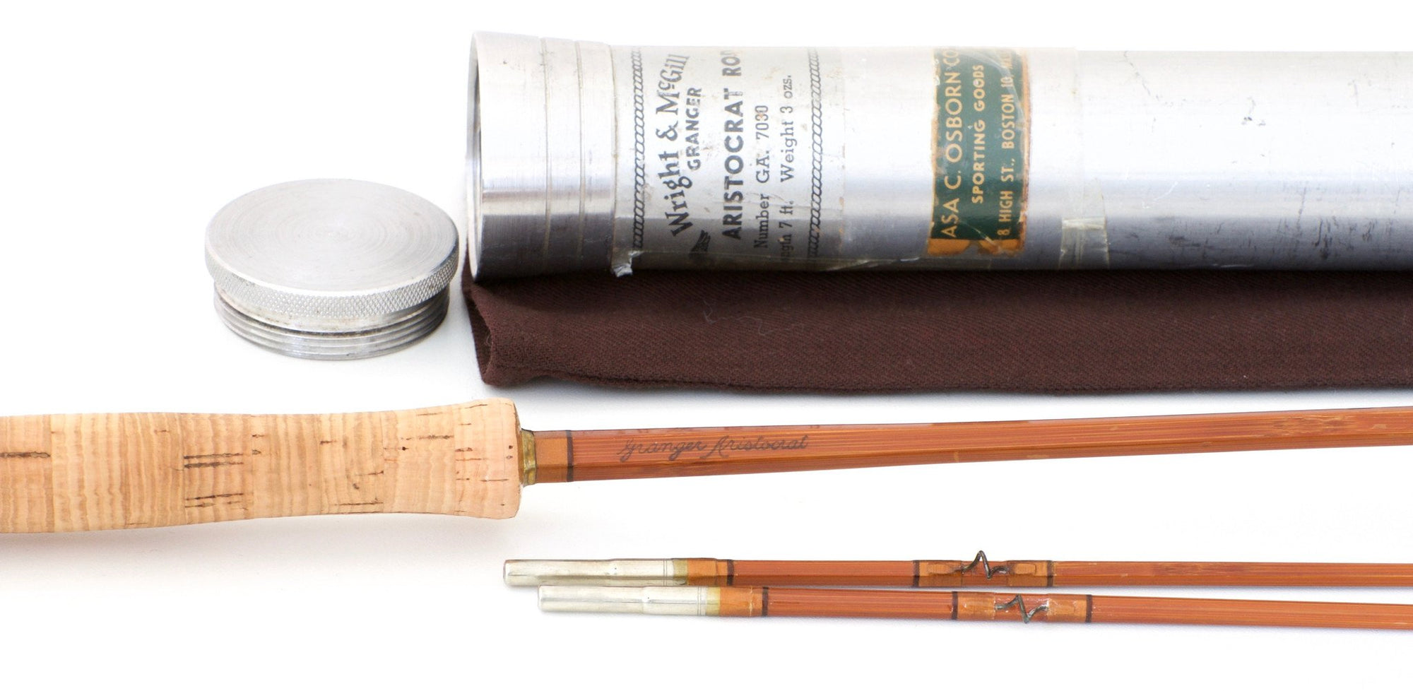 Wright & McGill Granger Aristocrat Model 7030 Bamboo Rod