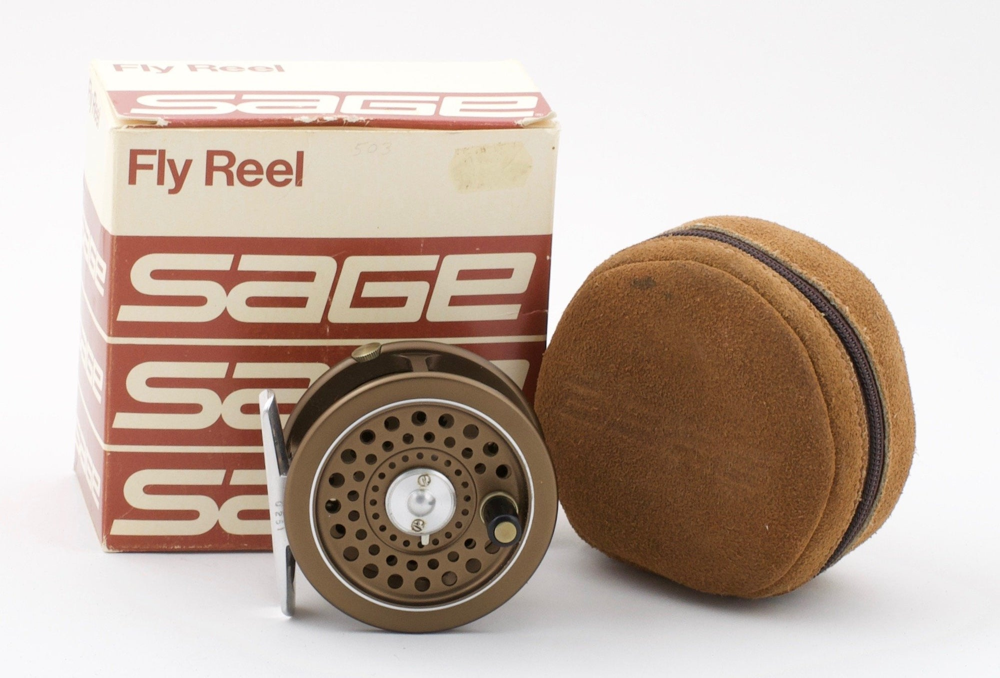 Sage 503L fly reel and spare spool (made by Hardy)