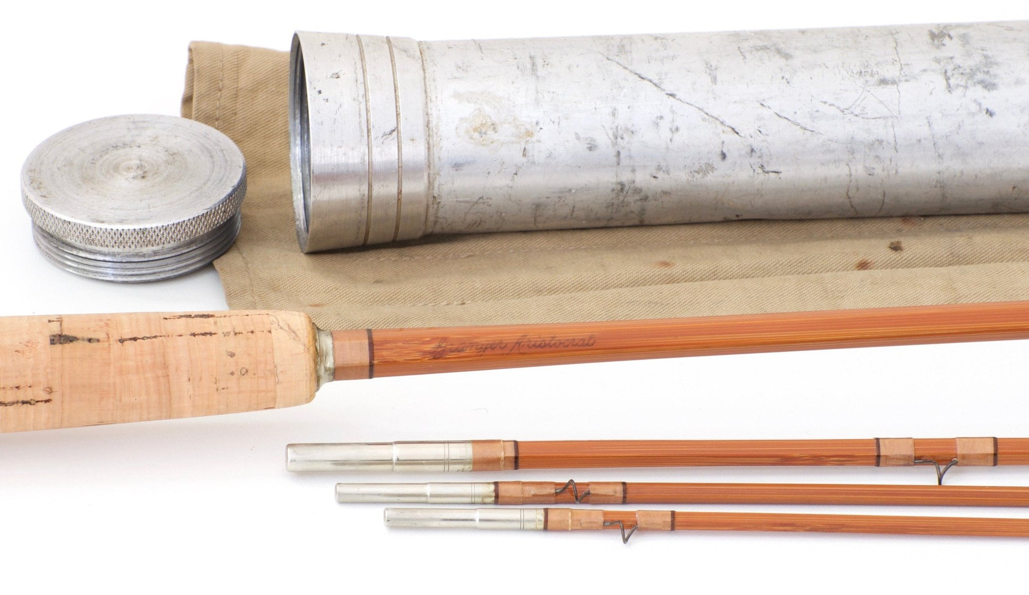 Wright & McGill Granger Aristocrat Model 8040 Bamboo Rod