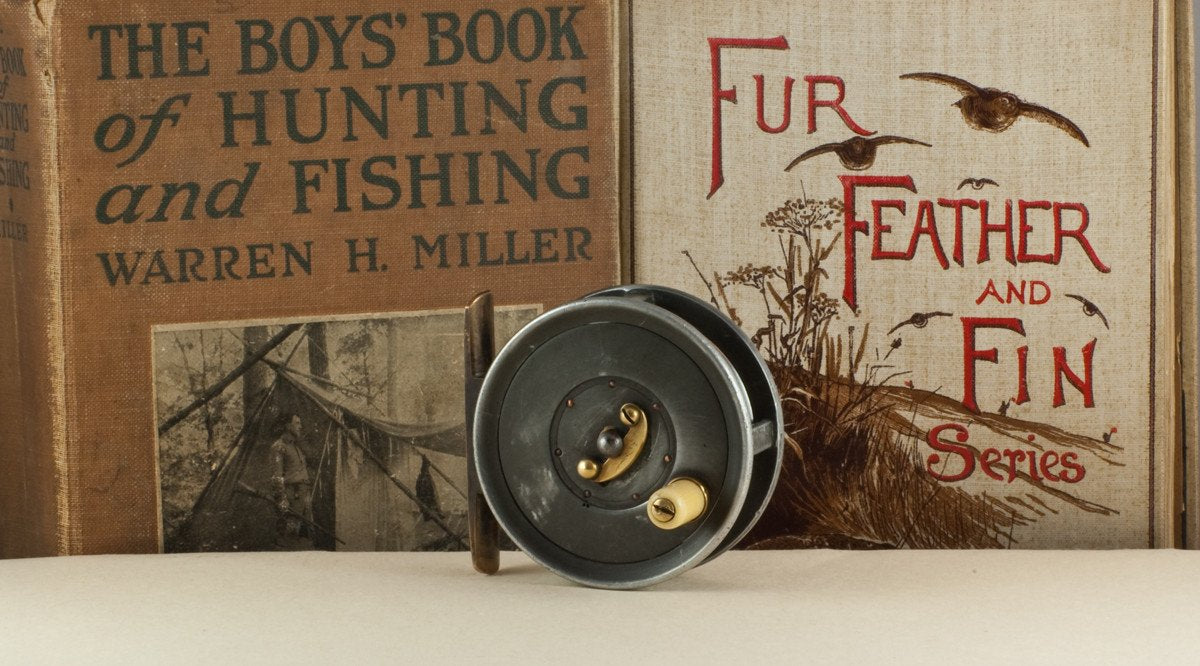 "Dingley Fly Reel 2 1/2"" William Mills & Son -  Caged Spool Fly Reel"