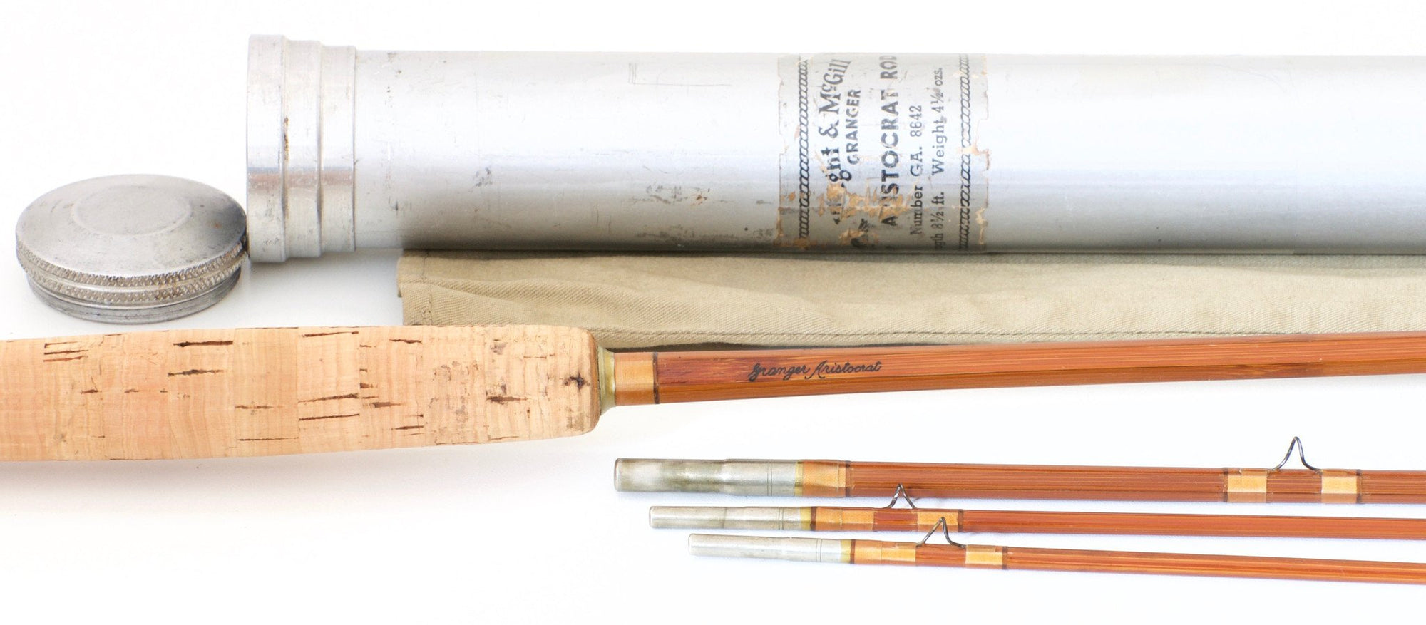 Wright & McGill Granger Aristocrat Model 8642 Bamboo Rod