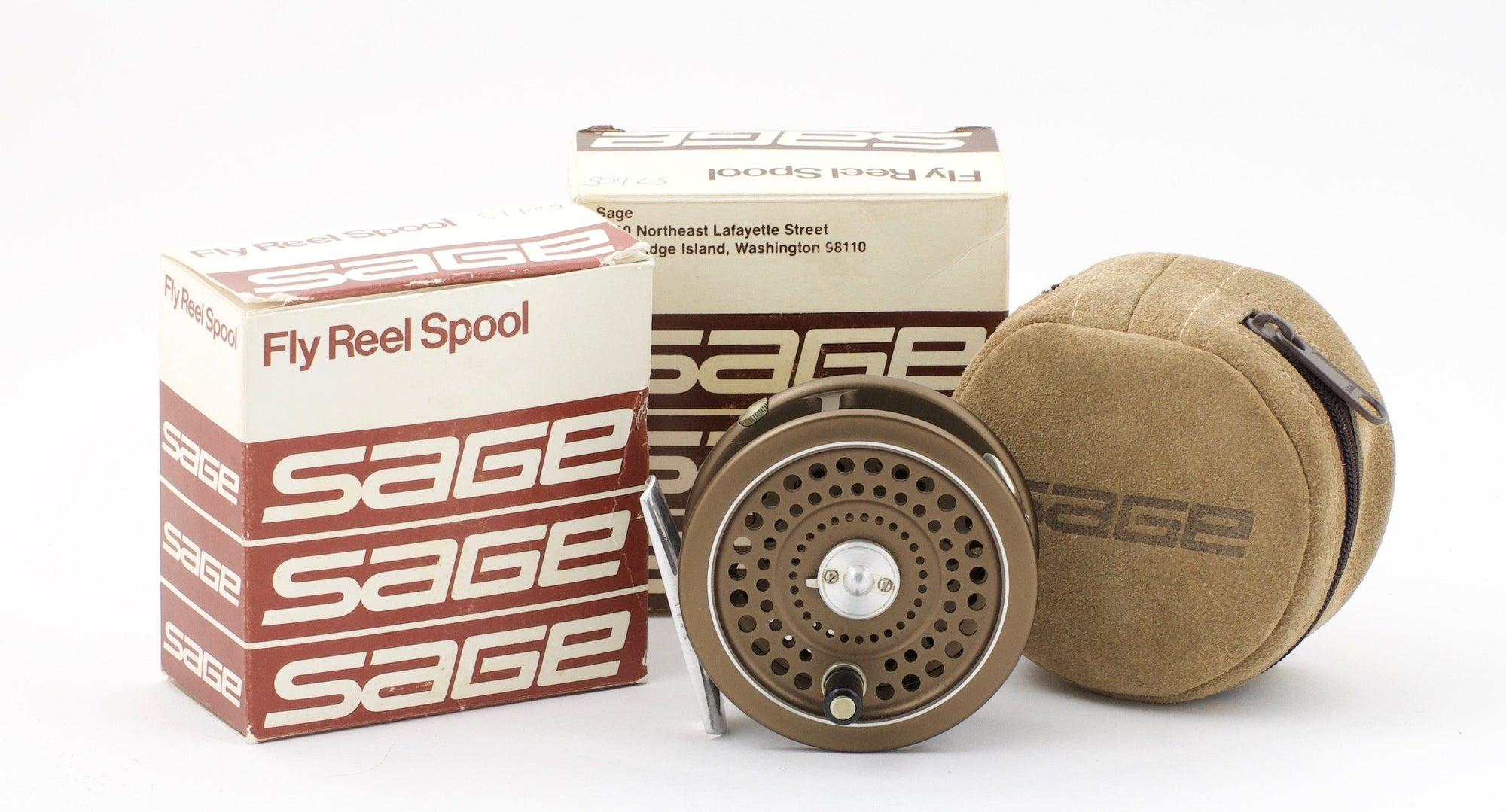 Sage 504L Fly Reel and Spare Spools (made by Hardy's)