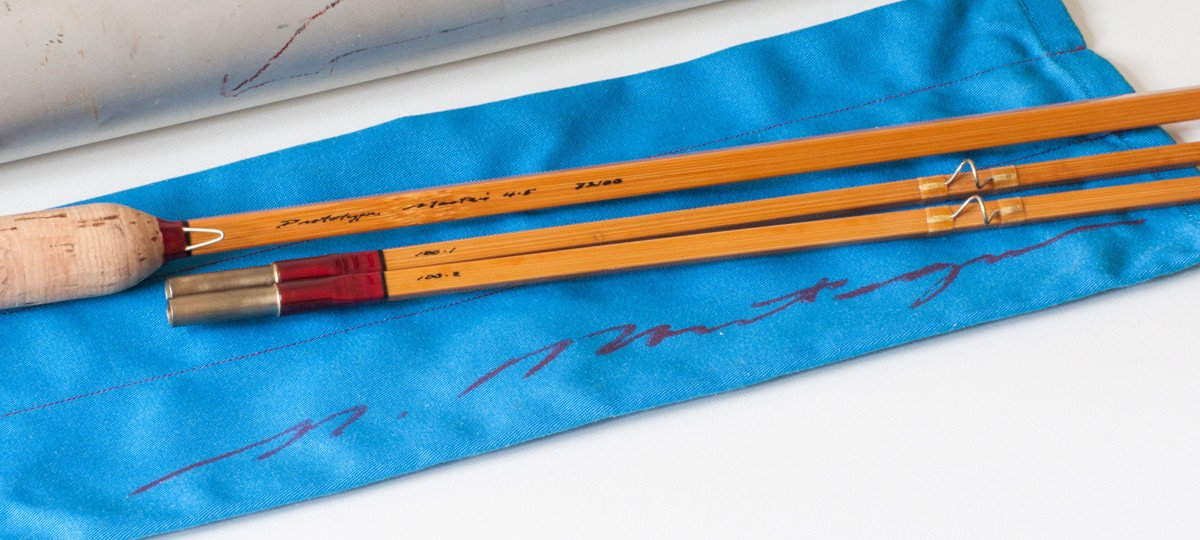 Mike Montagne -- Prototype Masters 7'8 4-5wt R-Quad Bamboo Rod