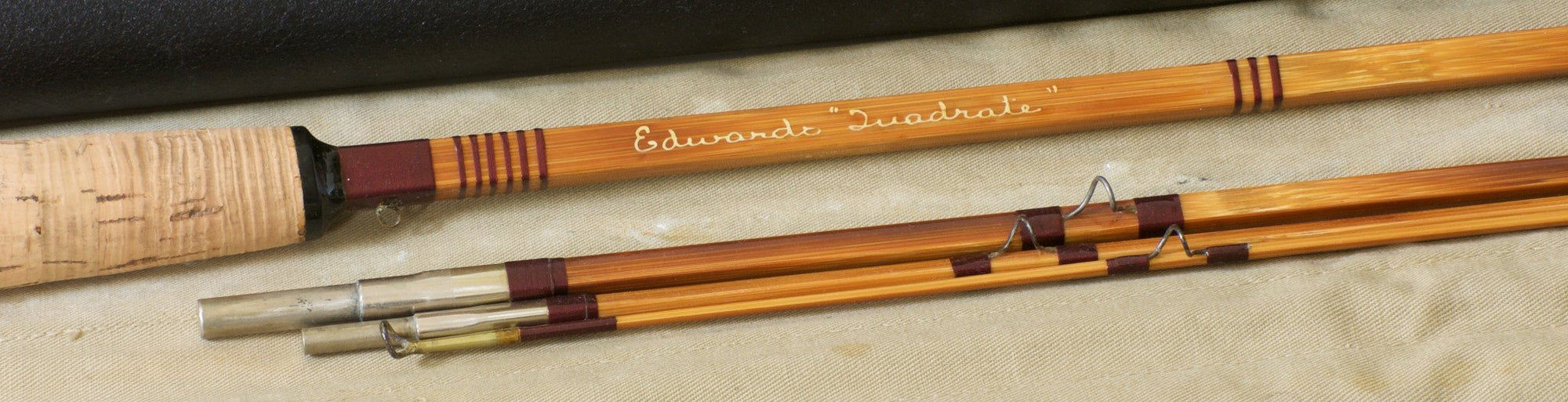 "Edwards Quadrate Model #35 8'6"" Bamboo Rod"