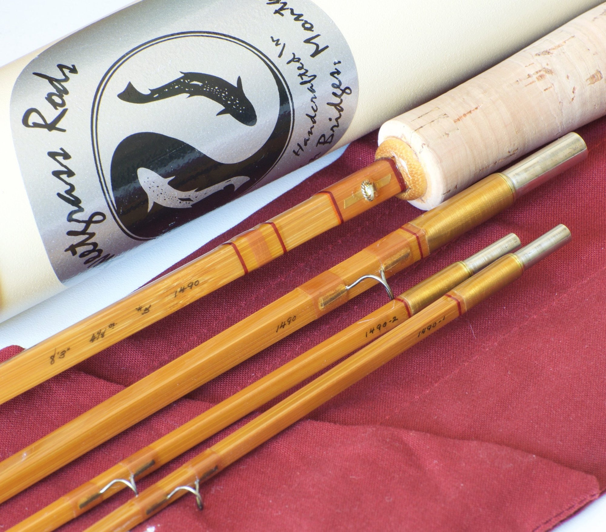 "Sweetgrass Quad Bamboo Rod 8'3"" 5wt"