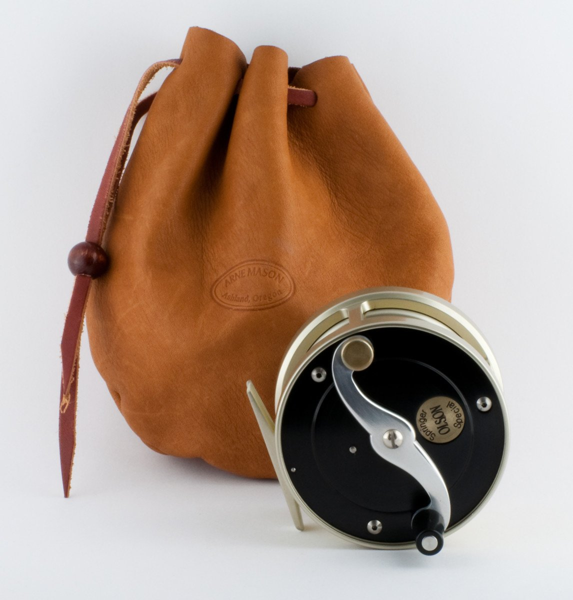"Olson, William - early ""Springer Special"" fly reel"