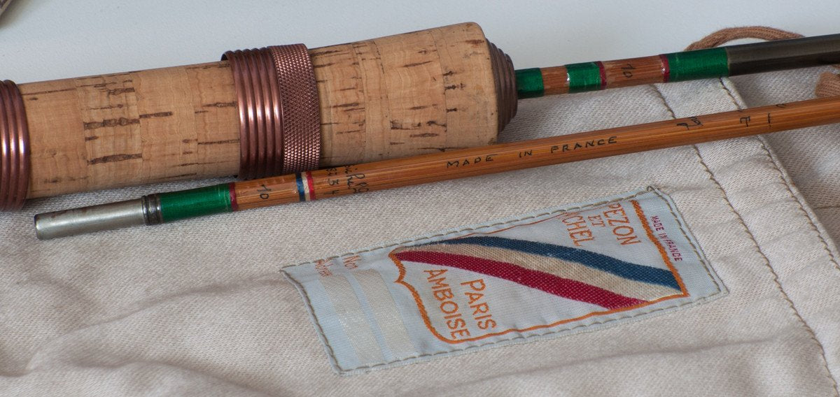 "Pezon et Michel ""Luxor Lux Wading"" Bamboo Spinning Rod"