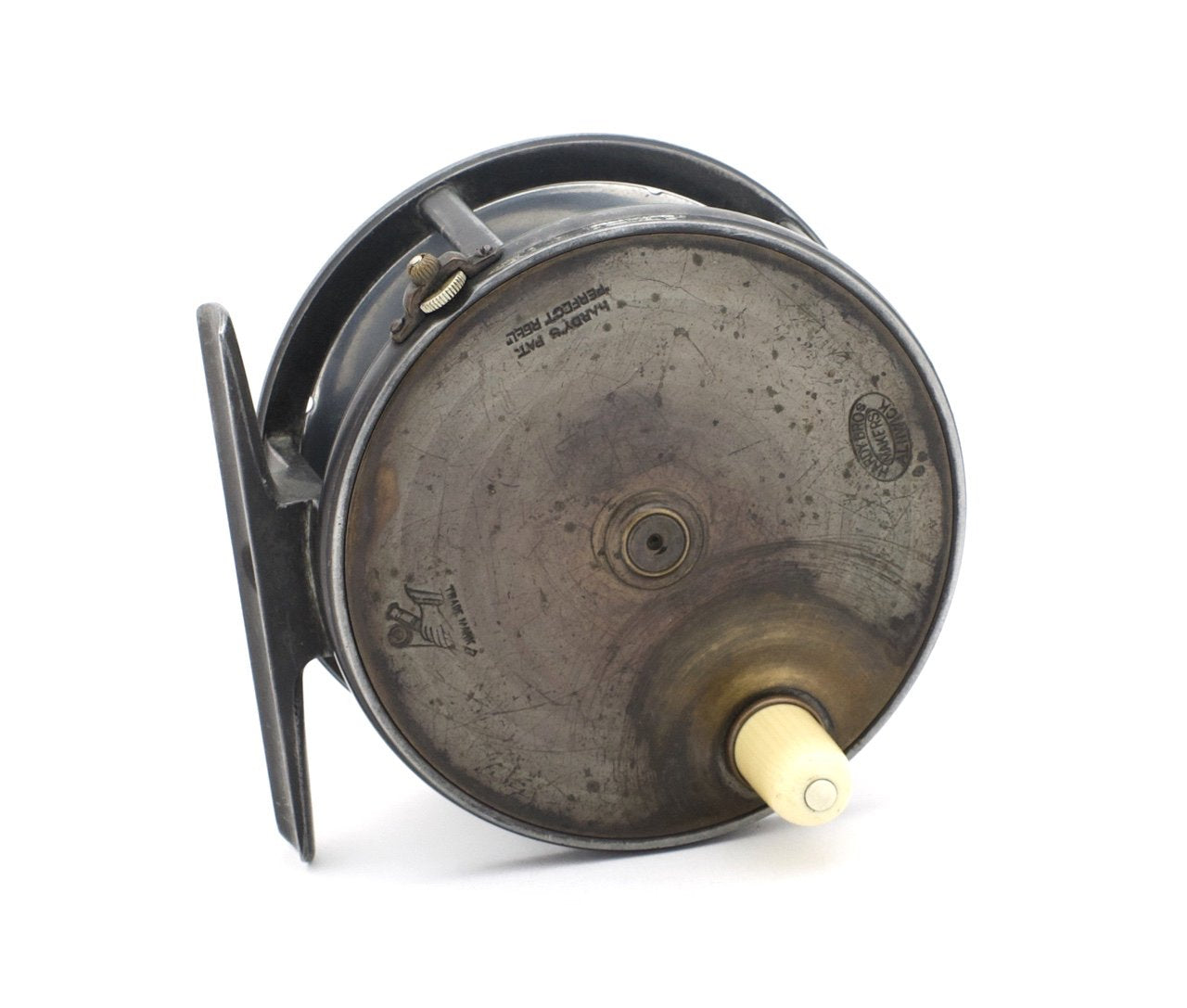 "Hardy Brass Face Perfect 4 1/2"" Fly Reel"
