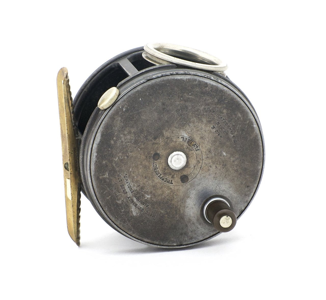 "Hardy Wide Drum Perfect 3 3/4"" Fly Reel"