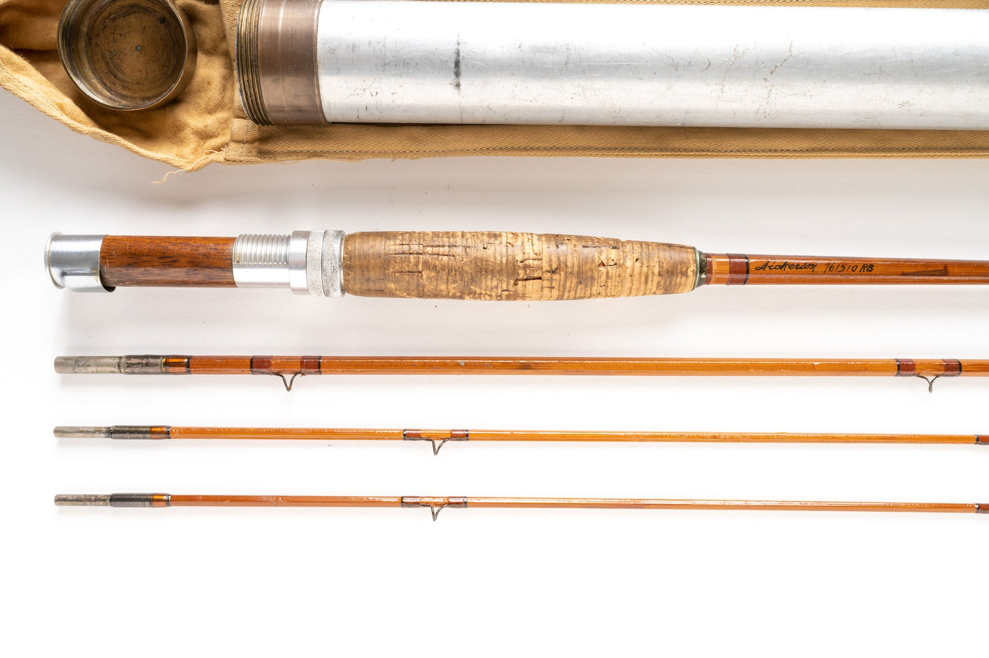 "Dickerson 761510 RB (Ray Bergman) Fly Rod 7'6"" 3/2 #5"