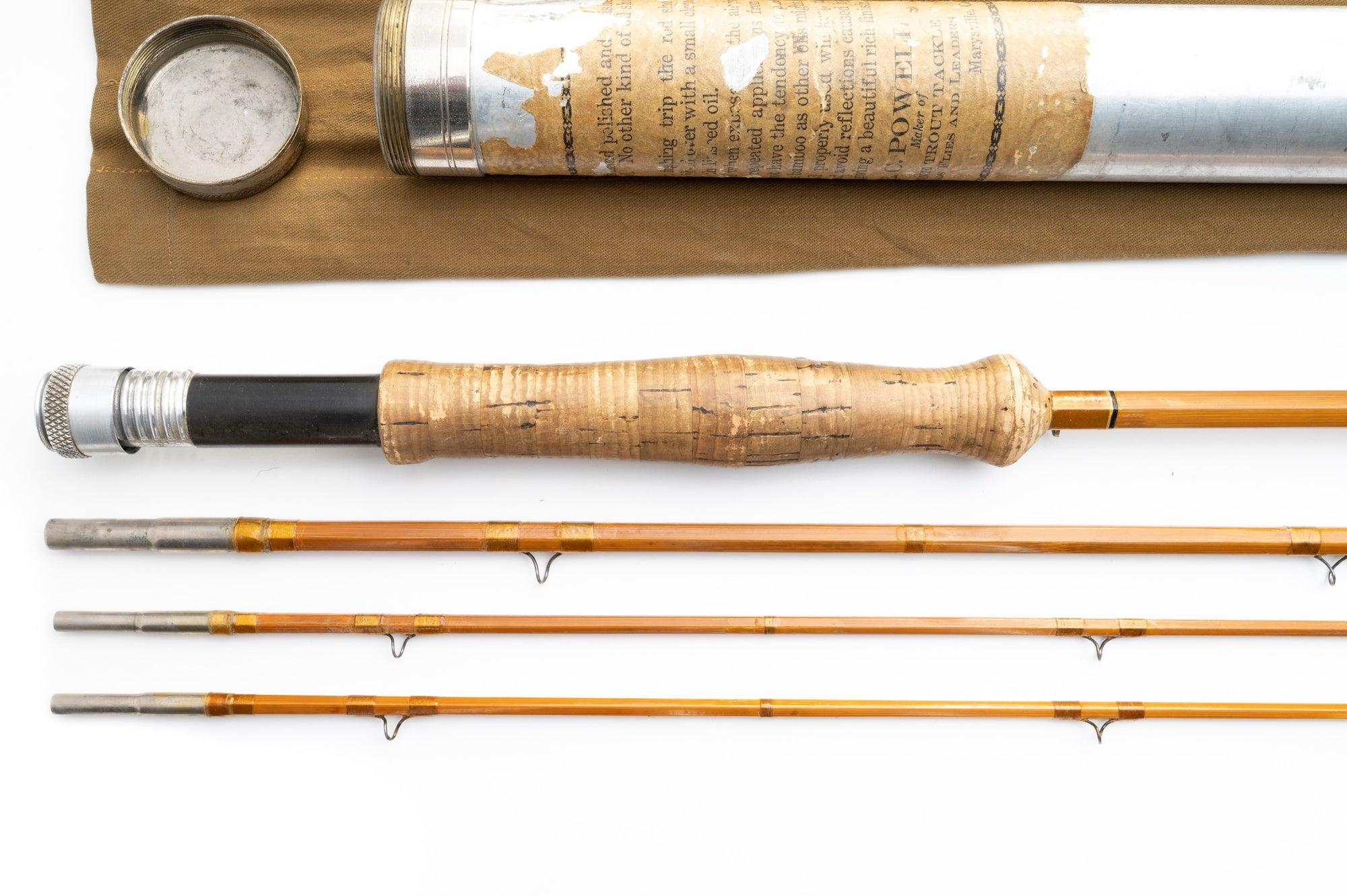 "EC Powell Steelhead Fly Rod 9'6"" 3/2 #7"