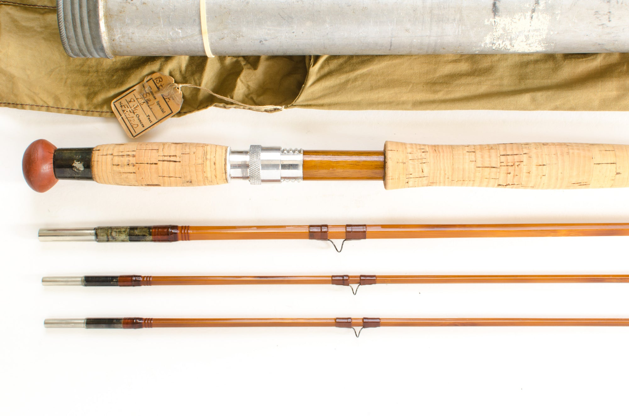 FE Thomas Browntone Dry Fly Salmon Rod 10' 3/2 #8
